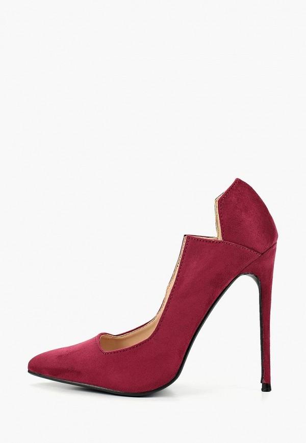 женские туфли lost ink, бордовые