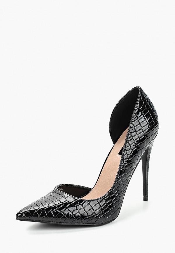 Купить Туфли LOST INK, TOVE TEXTURED D'ORSAY COURT, LO019AWCTBX4, черный, Осень-зима 2018/2019
