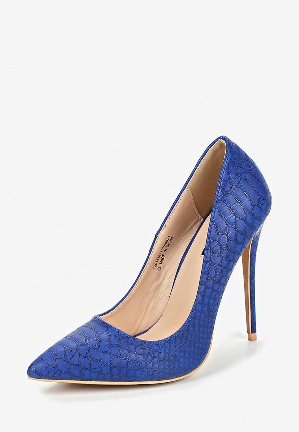 Фото 2 - женские туфли LOST INK синего цвета