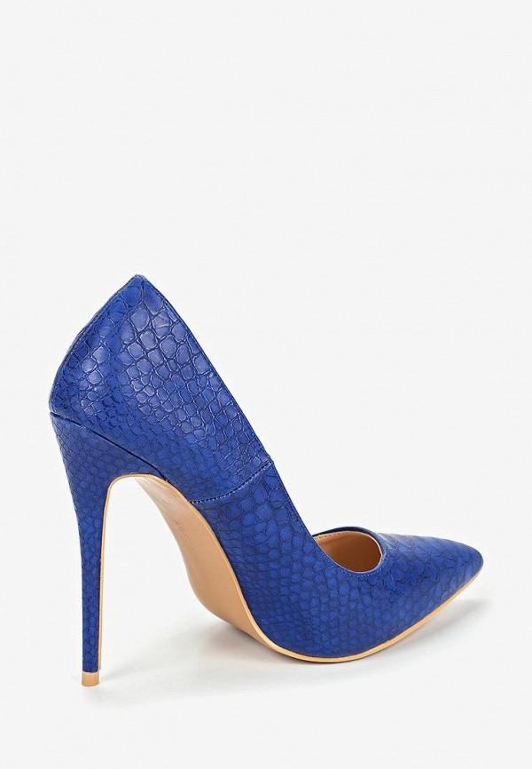 Фото 3 - женские туфли LOST INK синего цвета
