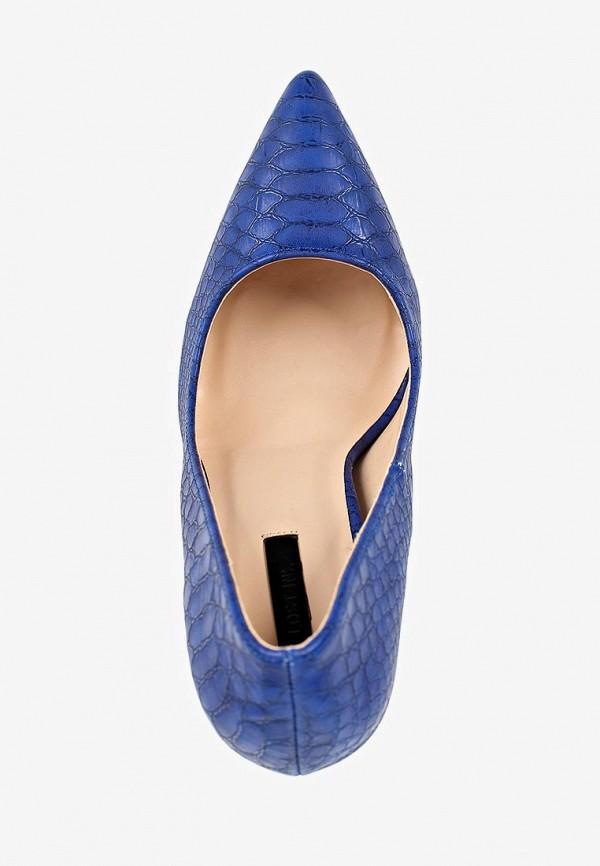 Фото 4 - женские туфли LOST INK синего цвета