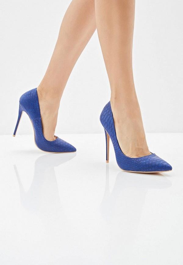 Фото 6 - женские туфли LOST INK синего цвета