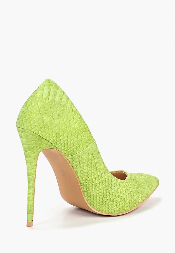 Фото 3 - женские туфли LOST INK зеленого цвета