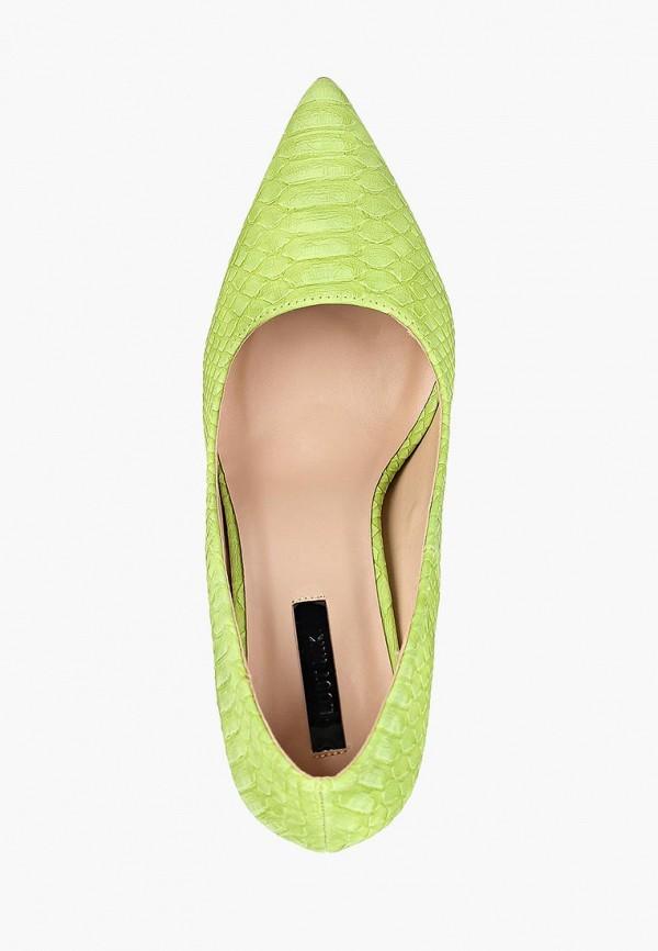 Фото 4 - женские туфли LOST INK зеленого цвета