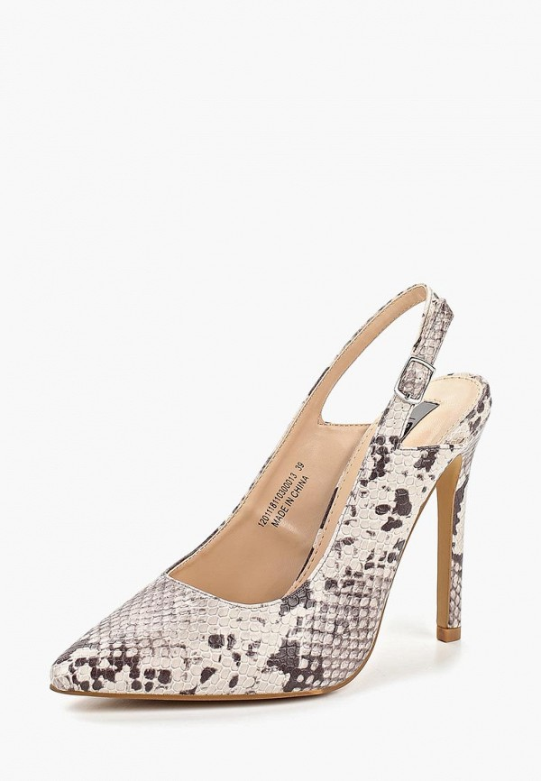 Фото 2 - женские туфли LOST INK бежевого цвета