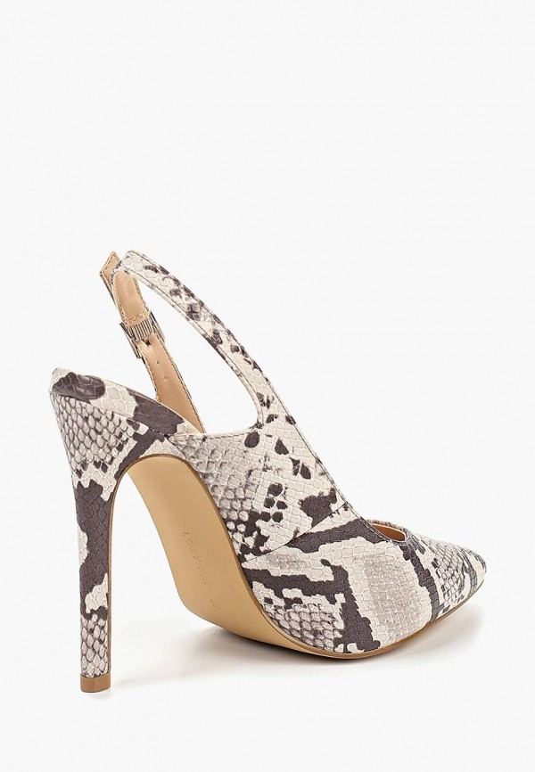Фото 3 - женские туфли LOST INK бежевого цвета