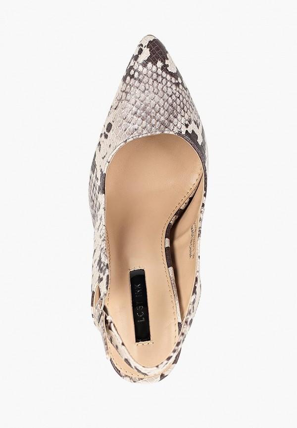 Фото 4 - женские туфли LOST INK бежевого цвета