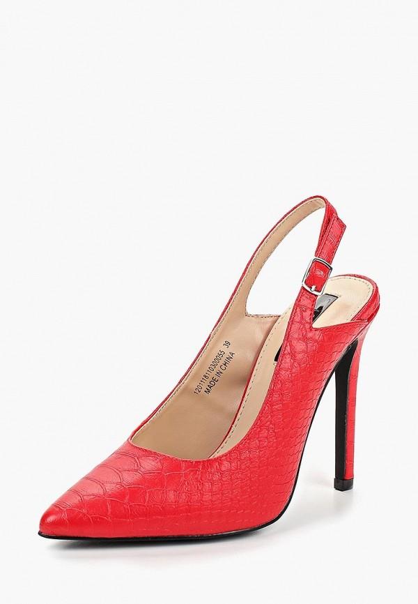 Фото 2 - женские туфли LOST INK красного цвета