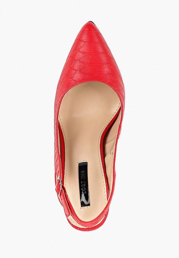 Фото 4 - женские туфли LOST INK красного цвета