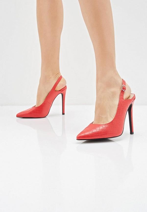 Фото 6 - женские туфли LOST INK красного цвета