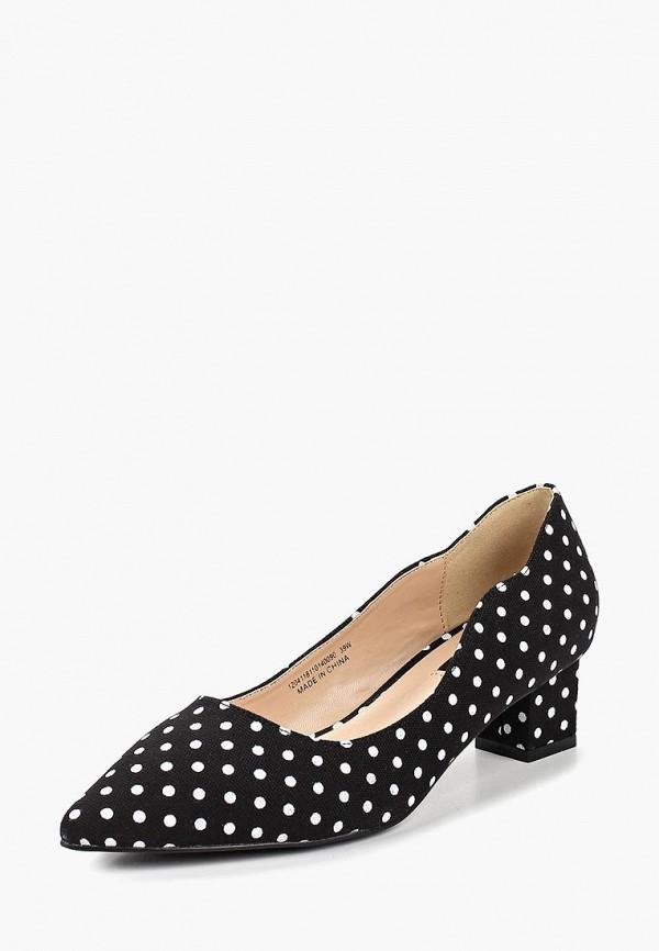 Фото 2 - женские туфли LOST INK черного цвета