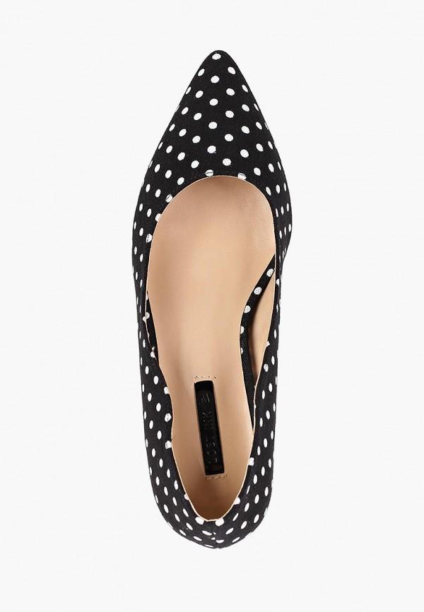 Фото 4 - женские туфли LOST INK черного цвета