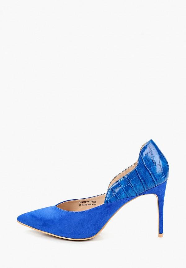 женские туфли lost ink, синие