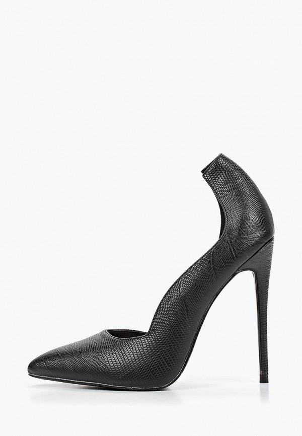 женские туфли lost ink, черные