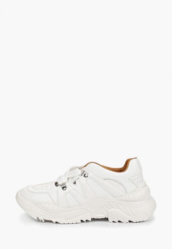 женские кроссовки lost ink, белые