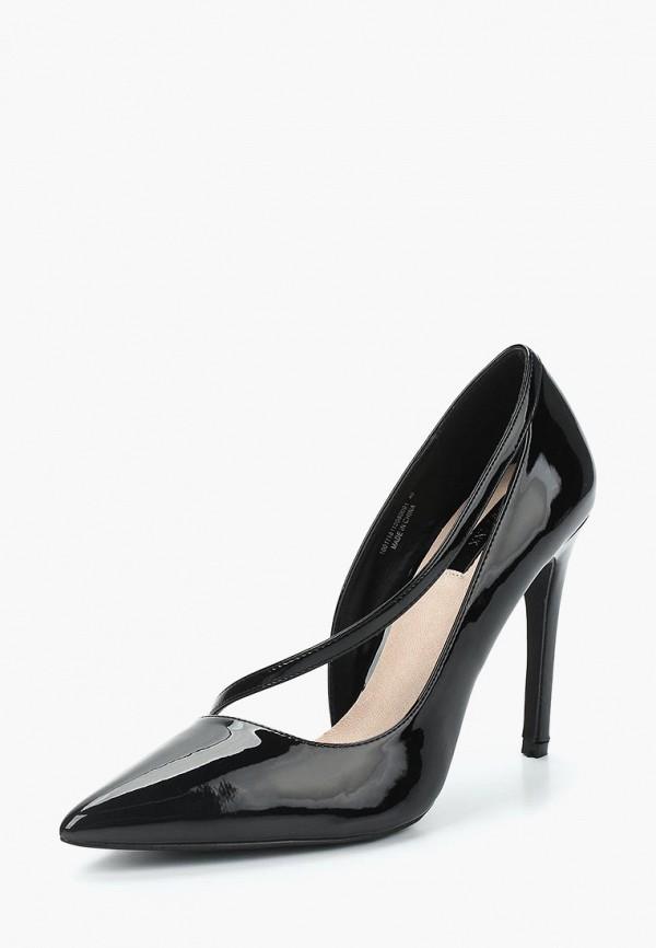 Купить Туфли LOST INK, PERRI D'ORSAY CURVE STRAP COURT, lo019awzfc39, черный, Весна-лето 2018
