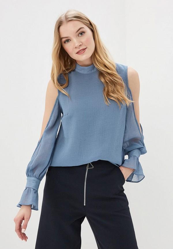 Купить Блуза LOST INK, EXTREME COLD SHOULDER BLOUSE, lo019ewaqdr7, голубой, Весна-лето 2018