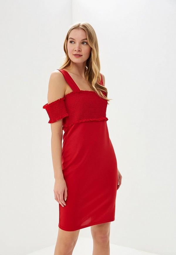 женское вечерние платье lost ink, красное