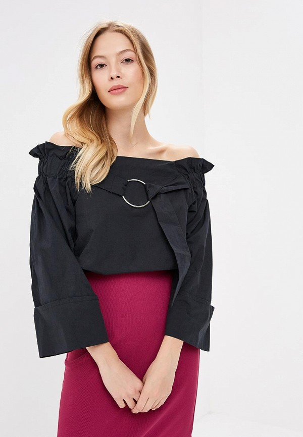 Блузы с открытыми плечами LOST INK