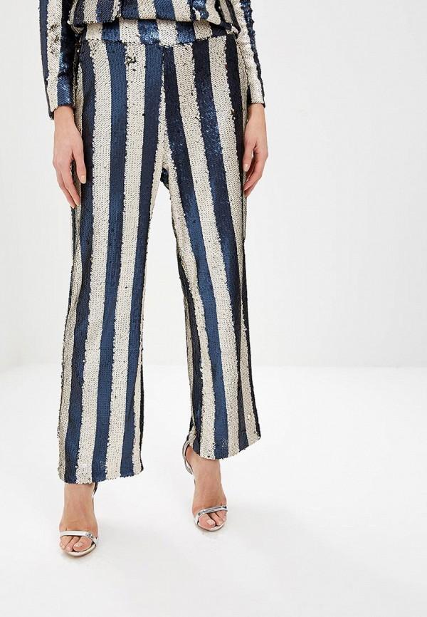 женские повседневные брюки lost ink, синие