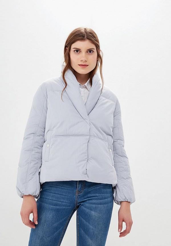 Купить Куртка утепленная LOST INK, SHORT TIE SIDE PADDED JACKET, LO019EWCCQD3, голубой, Осень-зима 2018/2019