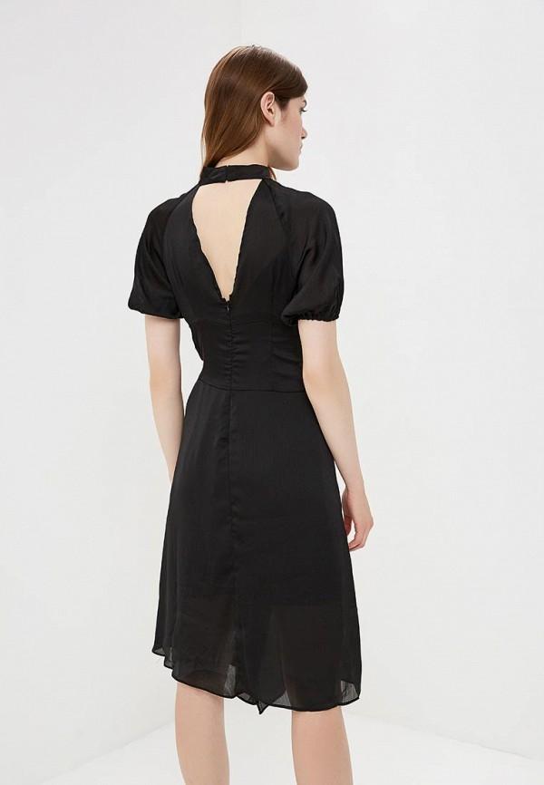 Фото 3 - женское вечернее платье LOST INK черного цвета