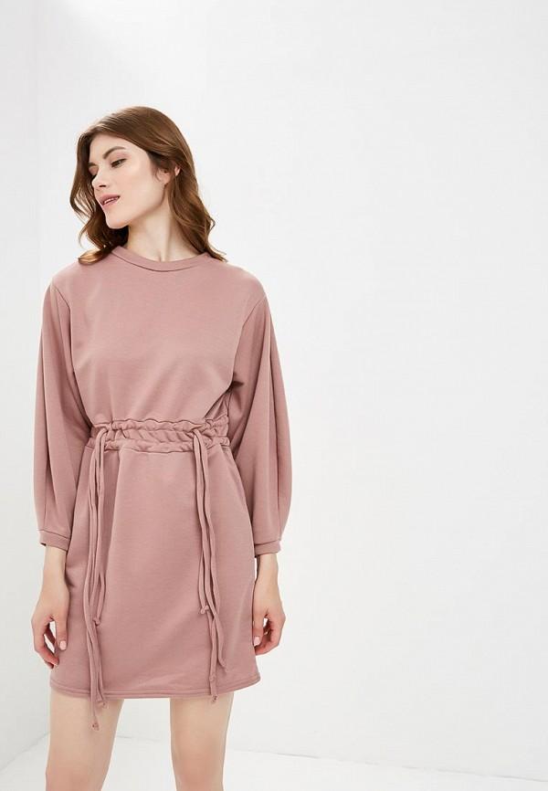 женское платье lost ink, розовое