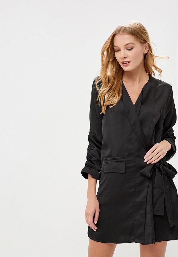 Купить Платье LOST INK, MINI COLUMN BLAZER DRESS, lo019ewccqh6, черный, Осень-зима 2018/2019