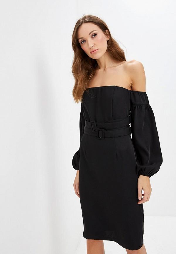 женское вечерние платье lost ink, черное