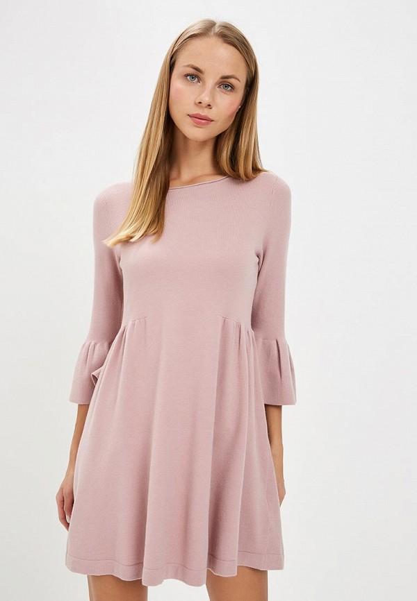 Купить Платье LOST INK, SMOCK MINI DRESS, lo019ewccqn7, розовый, Осень-зима 2018/2019