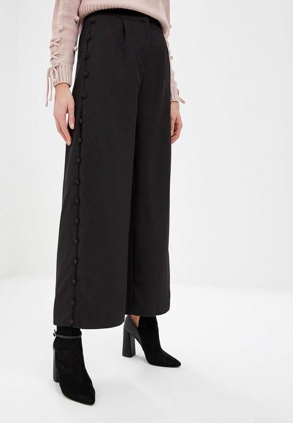 женские повседневные брюки lost ink, черные