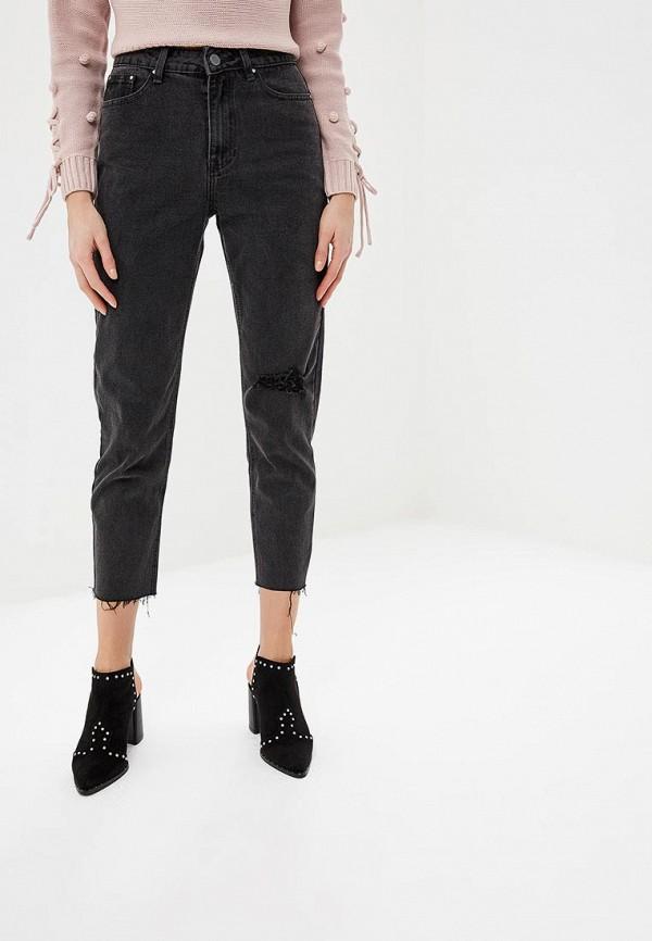 женские джинсы lost ink, серые