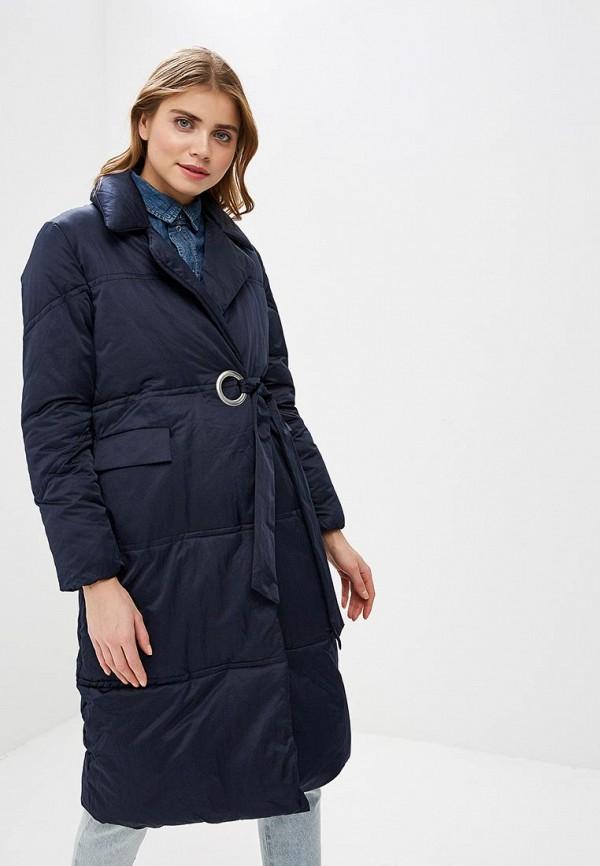 женская куртка lost ink, синяя