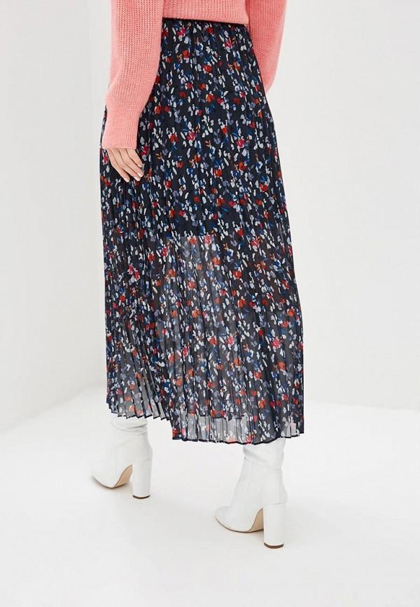 Фото 3 - женскую юбку LOST INK синего цвета