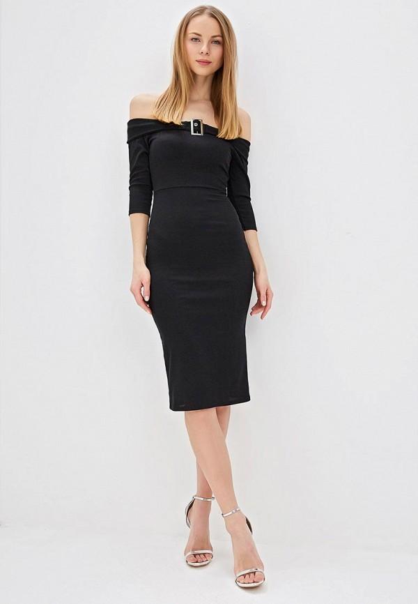 Фото 2 - Платье Lost Ink черного цвета
