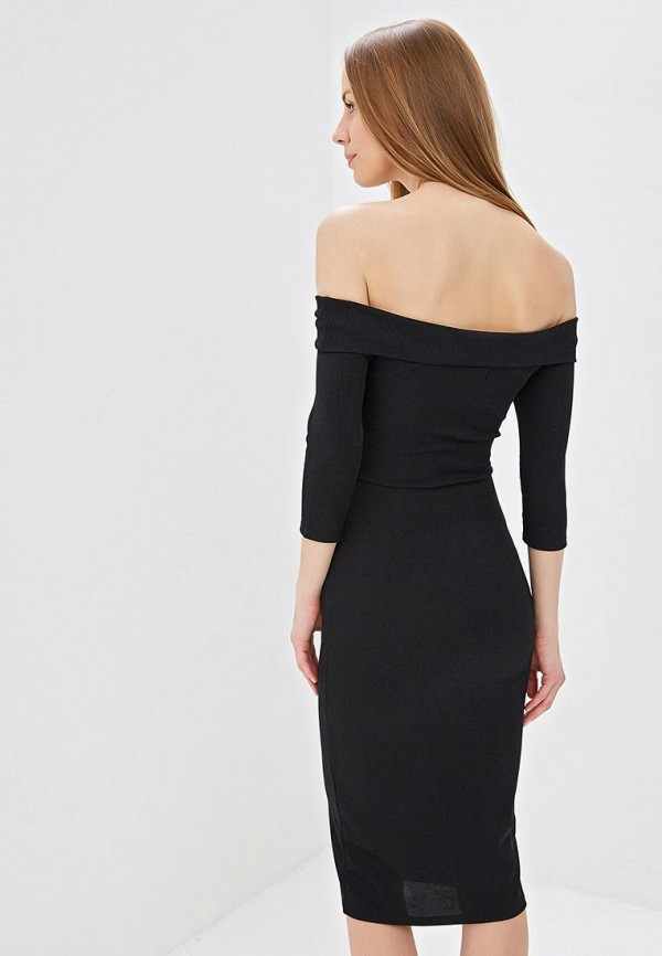 Фото 3 - Платье Lost Ink черного цвета