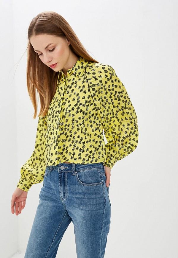 женская блузка lost ink, желтая
