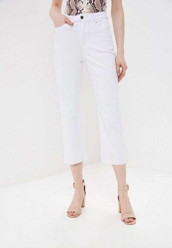 женские прямые джинсы lost ink, белые