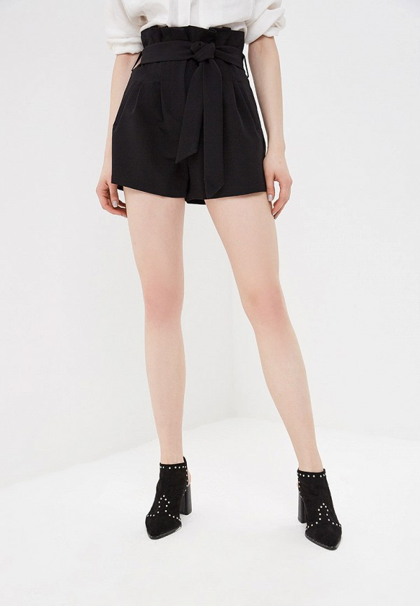 женские повседневные шорты lost ink, черные