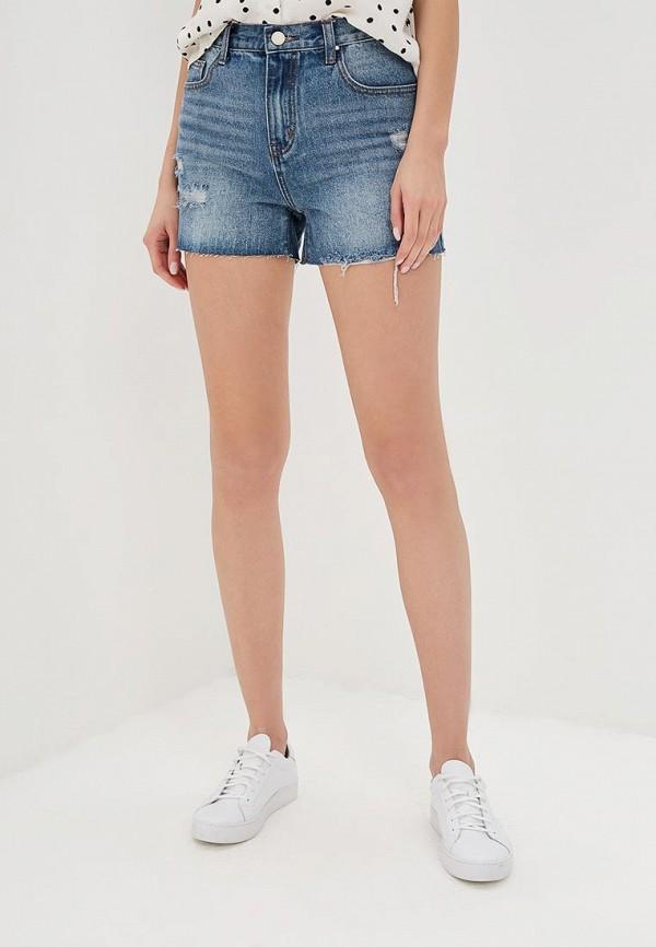женские джинсовые шорты lost ink, синие