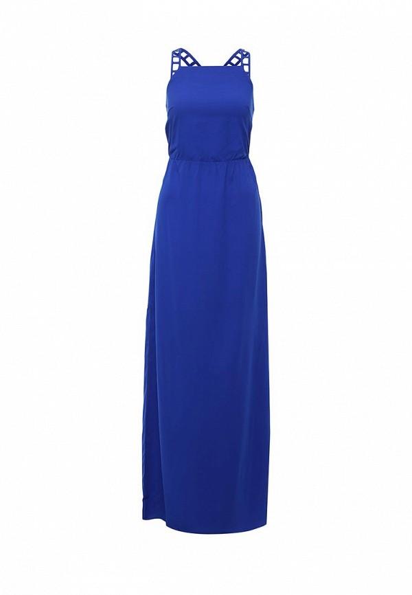 Купить Платье LOST INK, MEREDITH STRAPPY LADDER INSERT MAXI, LO019EWHEL88, синий, Весна-лето 2016