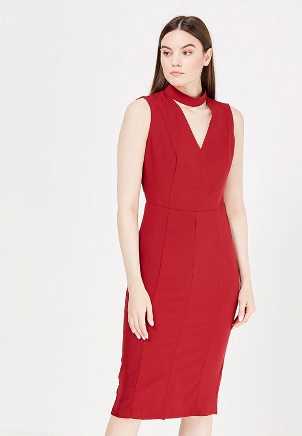 Купить Платье LOST INK, KIMMY OPEN BACK 18 HR DRESS, lo019ewjov83, бордовый, Весна-лето 2017