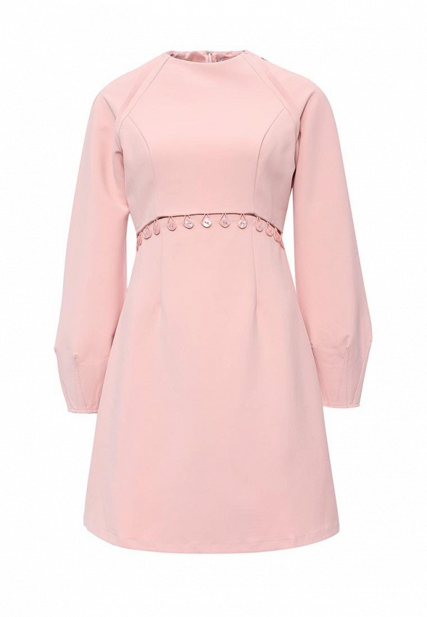 Купить Платье LOST INK, FRIEDA 2 IN 1 MINI DRESS, LO019EWNTC36, розовый, Весна-лето 2017