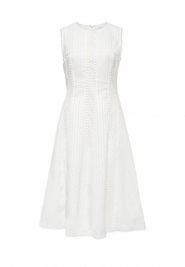 Купить Платье LOST INK, HERMIONE LACE INSERT DRESS, LO019EWOLN65, белый, Весна-лето 2017