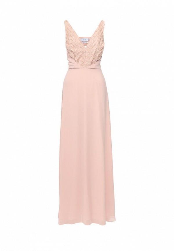 женское вечерние платье lost ink, розовое