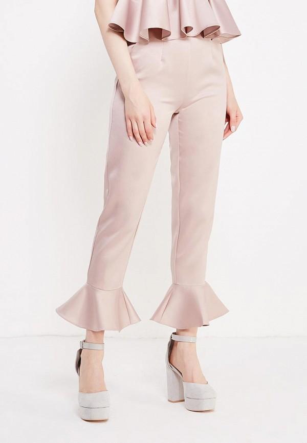 женские повседневные брюки lost ink, бежевые