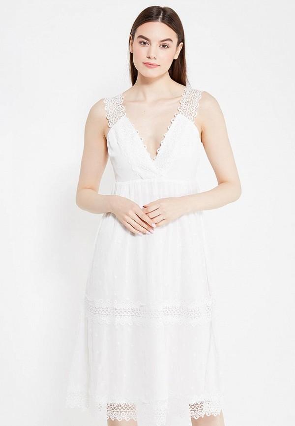 Купить Платье LOST INK, GINI PANELLED LACE GGT DRESS, LO019EWTZQ37, белый, Весна-лето 2017