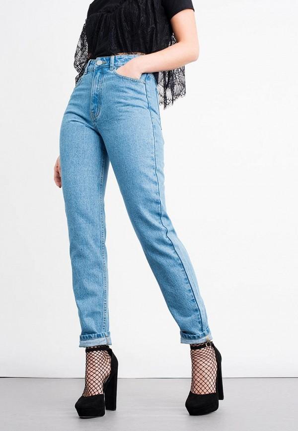 женские джинсы lost ink, голубые