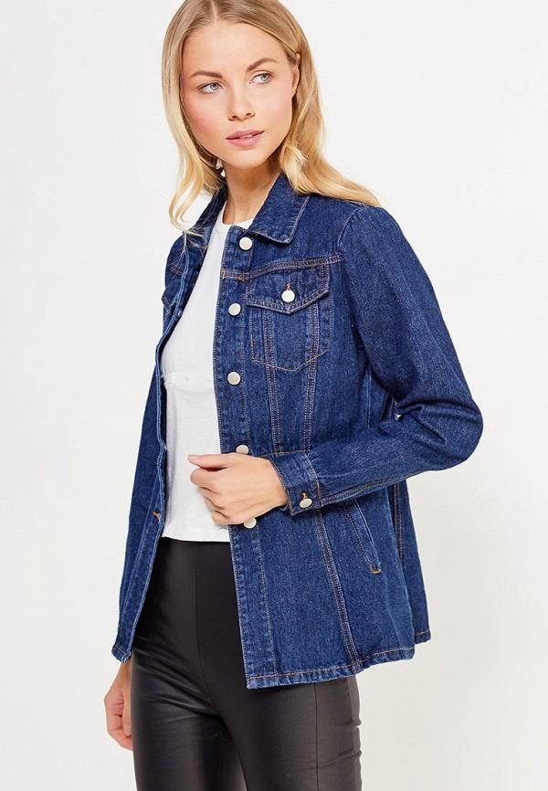 Купить Куртка джинсовая LOST INK, SKIRTED DENIM JACKET, lo019ewvaf43, синий, Осень-зима 2017/2018