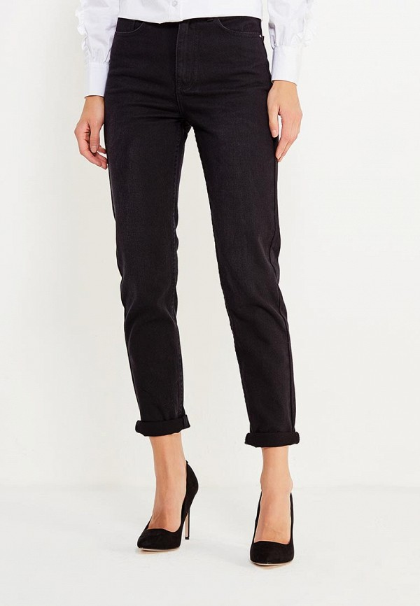 Фото - женские джинсы LOST INK черного цвета